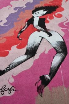 Fafi, Street Art, Berlin, Germany