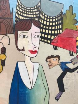 East Side Gallery, Street Art, Berlin, Germany