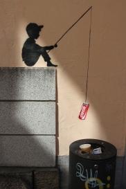 Street Art, Regensburg, Bavaria, Germany
