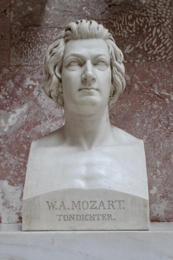 Mozart, Walhalla, Bavaria, Germany