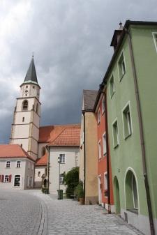 Cathedral of St. John the Baptist, Nabburg, Bavaria, Germany