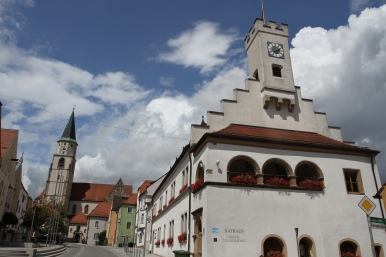 Rathaus, Nabburg, Bavaria, Germany