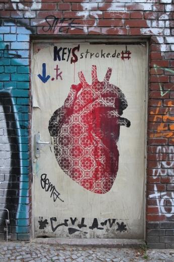 A doorway to your heart? Street Art, Berlin