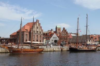 Harbour, Wismar, Germany