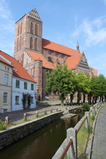 Kirche St. Nikolai, Wismar, Germany