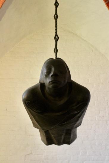 Ernst Barlach's Floating Angel or Der Schwebende, Güstrow, Germany