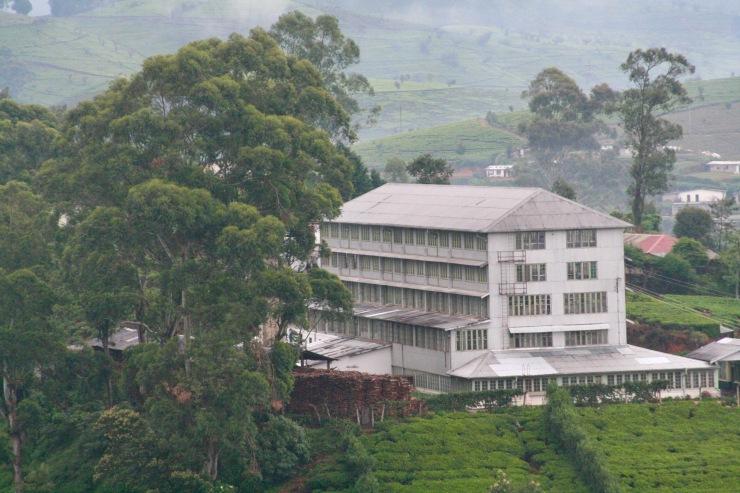 Tea factory, Nuwara Eliya, Sri Lanka