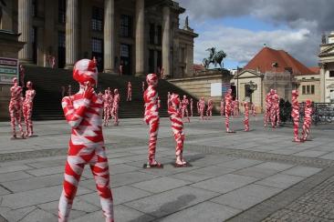 It Is Like It Is by Dennis Josef Meseg, Gendarmenmarkt, Berlin, Germany