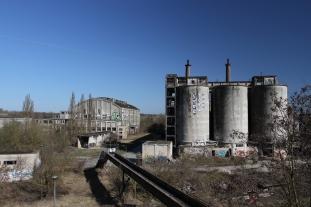 Old chemical factory, Rüdersdorf, Brandenburg, Germany