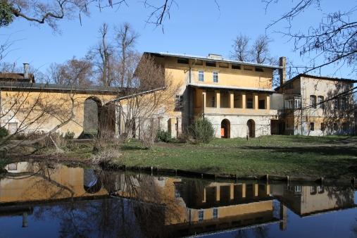 The Roman, Baths, Sanssouci Park, Potsdam, Germany