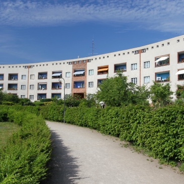 Hufeisensiedlung, Horseshoe Estate, Berlin, Germany