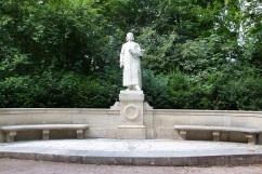 Liszt statue, Weimar, Germany