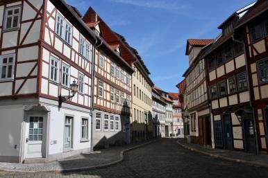 Former Jewish quarter, Halberstadt, Germany