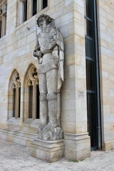 Roland statue, Halberstadt, Germany