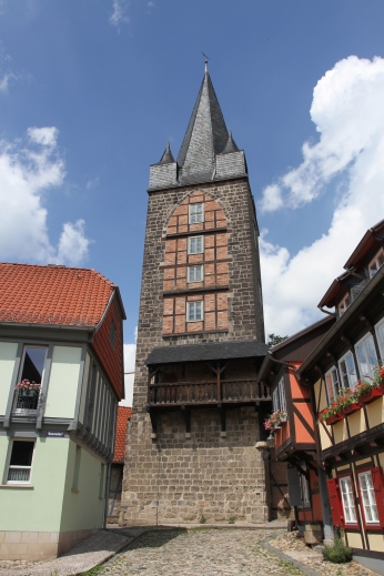 Schreckensturm, Quedlinburg, Germany