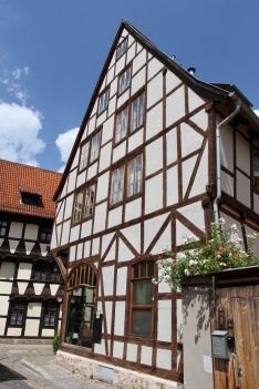 Timber-framed houses, Quedlinburg, Germany