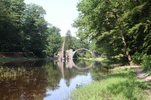 Rakotzbrücke, Park Muskau, Bad Muskau, Germany