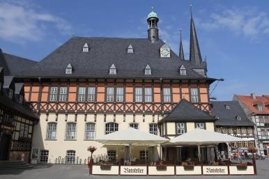 Rathaus, Marktplatz, Wernigerode, Germany, Europe