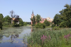 Old and New Castle, Bad Muskau, Germany