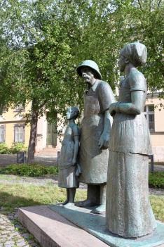 Albert Schweitzer statue, Weimar, Germany