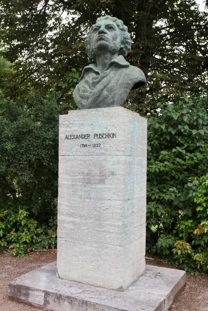 Puschkin statue, Weimar, Germany