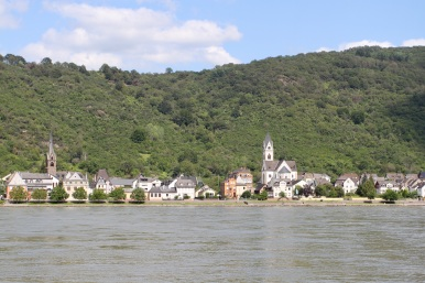 Kamp-Bornhofen on the Rhine, Boppard, Germany