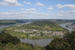 View from the Sesselbahn, Boppard, Germany